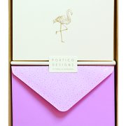 Flamingo Notecards