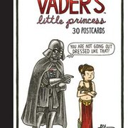 Vader's Little Princess 30 postcards