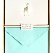 Giraffe Notecards