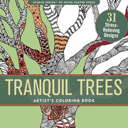 Tranquil Trees, Coloring Book