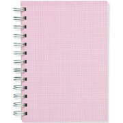 Pink Hay, Spiral Bound Notebook, 80 sheets