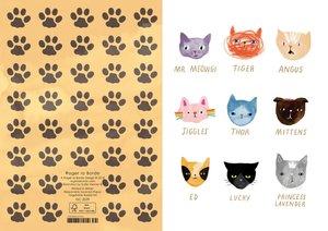 Cat  Faces, Cards - Standard