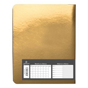 Fortune Favors The Prepared Gold Luxe Pocket Planner