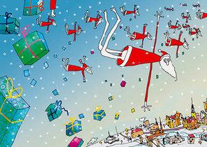 Christmas, Postcard