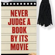 Beaded Bookmark, Never Judge A Book By Its Movie