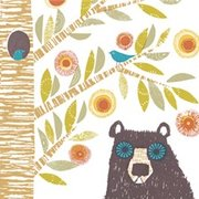 Bear that can stare, Greeting Card