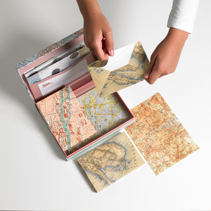 Maps, Letter Writing Set