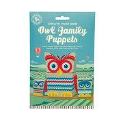 Owl Family Puppets