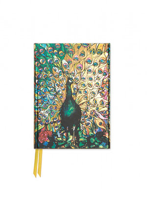 Tiffany: Displaying Peacock (Foiled Pocket Journal)