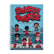 Street Dance Colouring Book