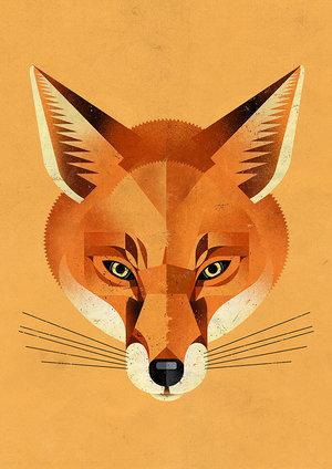 Foxy, Greeting Card