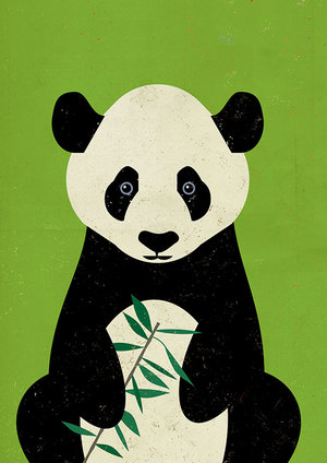 Great Panda, Greeting Card
