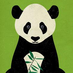 Great Panda, Greeting Card