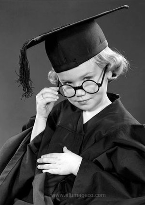 Graduating with Honours, 1950s, Greeting Card