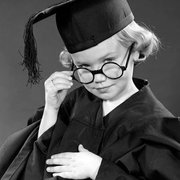 Graduating with Honors, 1950s, Greeting Card