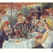 The Luncheon of the Boating Party (1881), Greeting Card