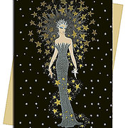 Starstruck (Erté) Greeting Card