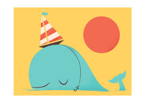 Party Hat, Greeting Card