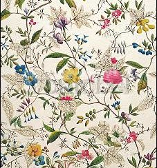 Wild Flowers Design for Silk Material (c. 1790), Greeting Card