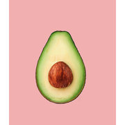 Avocado , Greeting Card