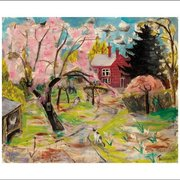 The Cherry Tree, Greeting Card