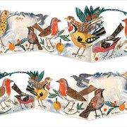 Winter Garden Birds, 3 fold die cut