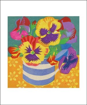 Pansies, Greeting Card