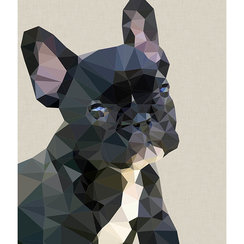 Frenchie , Greeting Card