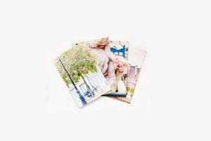 Paris in Bloom, Notecards