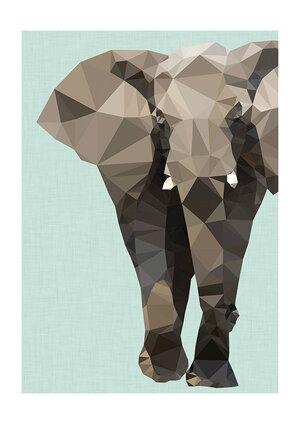Elephant, Greeting Card