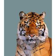 Tiger, Greeting Card