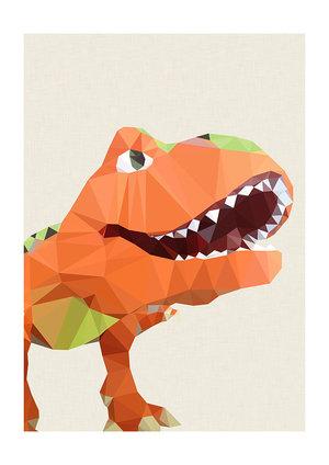 T Rex, Greeting Card