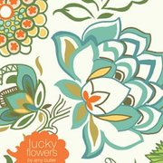 Lucky Flowers Notecard Book