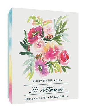Simply Joyful Notes, 20 Notecards