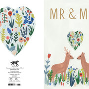 Mr & Mrs Deer, Cards - Petite