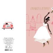 Congratulations Bride, Cards - Petite
