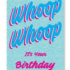Whoop Whoop, Postcard