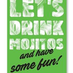 Let's Drink Mojitos, Postcard