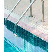 Vintage Swimming Pool, Greeting Card