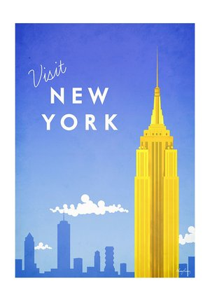 Visit New York, Greeting Card