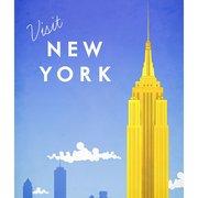 Visit New York, Greeting Card