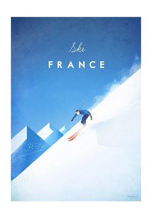 Ski France, Greeting Card