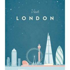 Visit London, Greeting Card