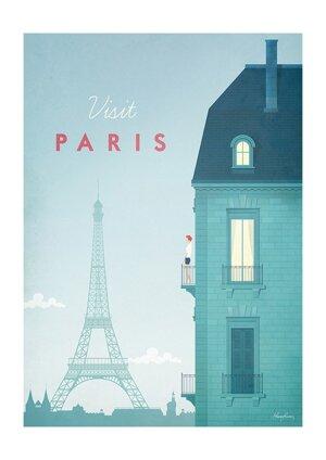 Visit Paris , Greeting Card