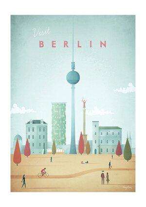 Visit Berlin, Greeting Card