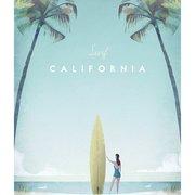 Surf California, Greeting Card