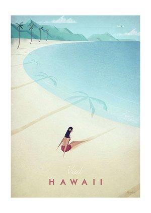 Visit Hawaii, Greeting Card
