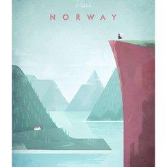 Visit Norway, Greeting Card