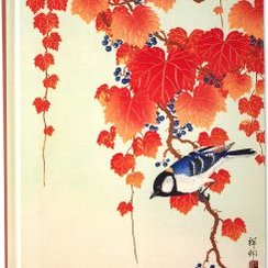 Bird and Red Ivy Journal