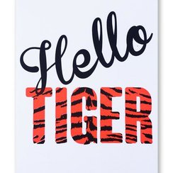Hello Tiger, Postcard